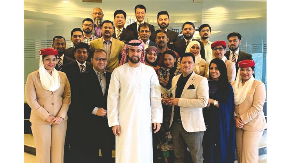 Emirates Bangladesh wins Chairman's Award