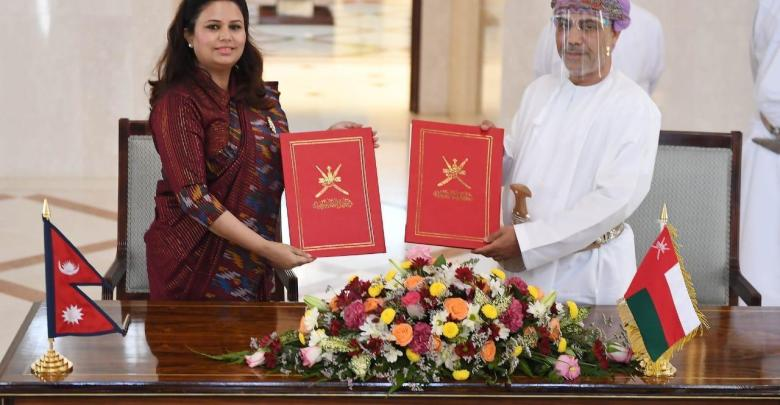 Oman signs agreement with Nepal on visa exemptions