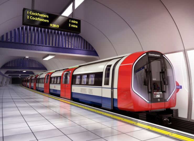 New Trains Will Replace the 1970s-built Piccadilly Line Fleet