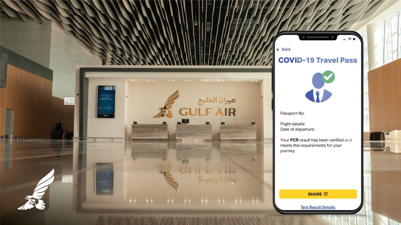 Gulf Air Begins IATA Travel Pass Trial on Athens, London and Singapore Flights