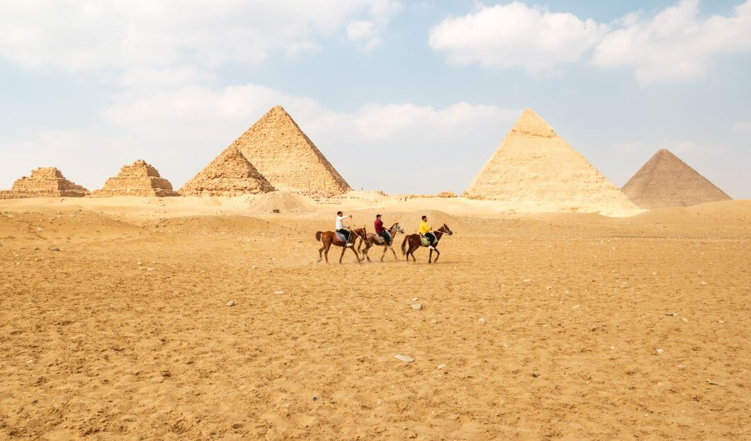 EGYPT EXPECTS THAT THE NUMBER OF VISITORS WILL REACH 60% OF THE 2019 LEVELS