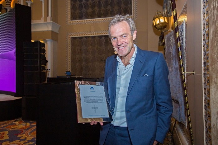 Worsley recognised for contribution to tourism
