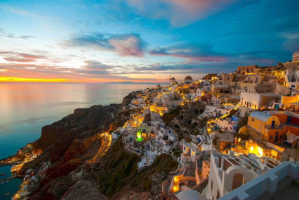 Santorini's Oia Revealed as World's Most Beautiful Village